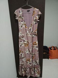 Women Long Dress Kimono Preloved Zalora