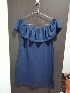 Women Mini Dress Preloved Cotton On