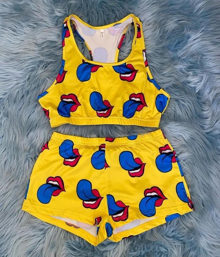 Yellow 2 piece set 💛
