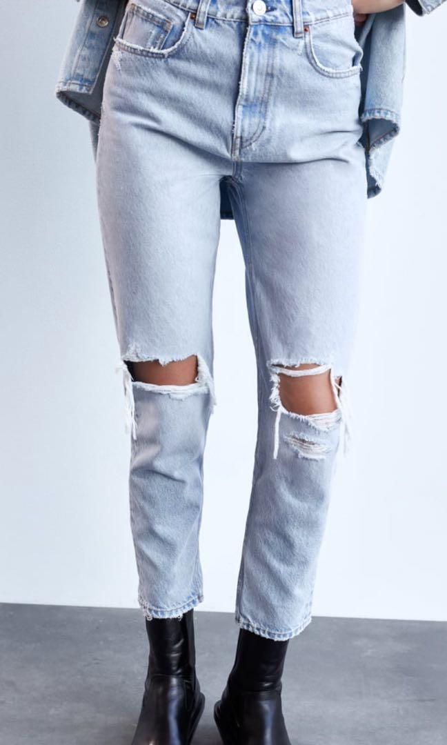 Zara Mom Jeans size US 4 / EUR 36