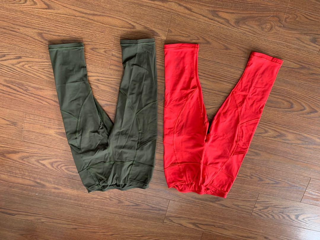 2 for 1 - Cropped lululemon run tights
