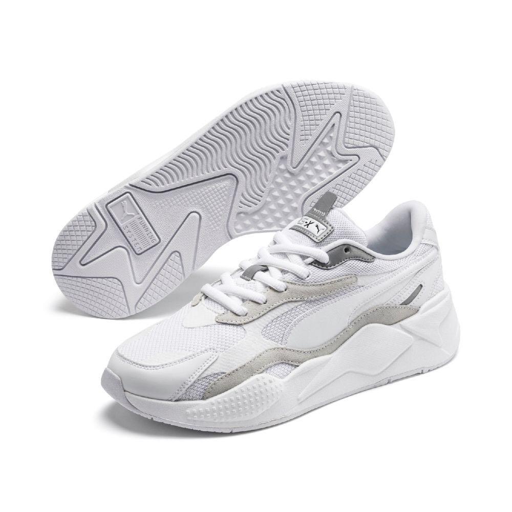 [6折] 全新正版台灣公司貨 PUMA RS-X³ PUZZLE 流行休閒鞋 US10號 已抽真空保存如照 小白鞋