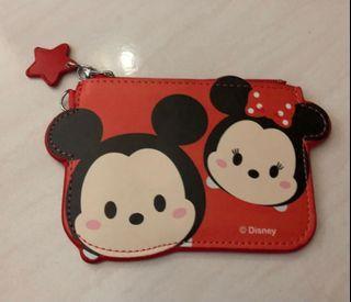 《90% New》Disney 卡夾(卡套)/票卡証件零錢包👛