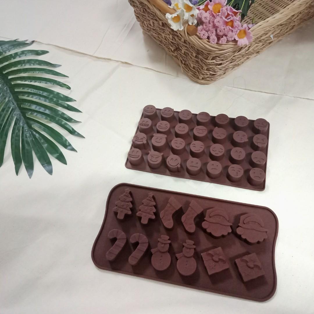 【近全新】巧克力矽膠模具