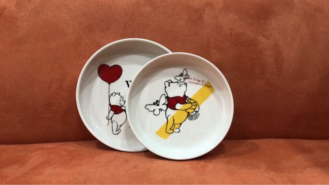 小熊維尼餐碗盤組