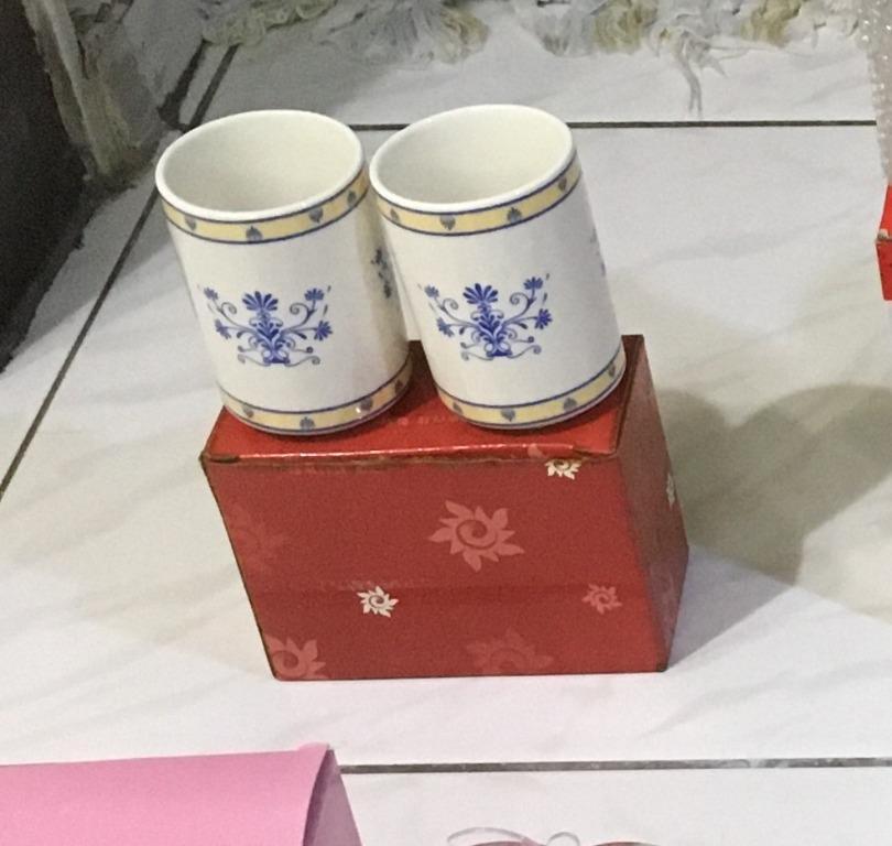 【專賣二手物】[全新]陶瓷對杯組