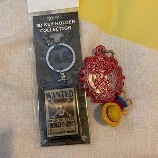 海賊王 One Piece 路飛 Luffy 3D 鎖匙扣 Key Holder