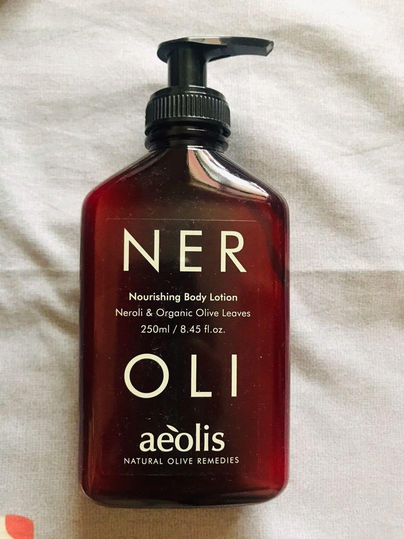 Aeolis身體乳液
