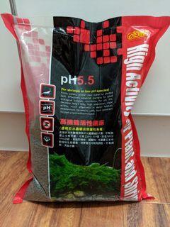 Aquarium soil low pH for shrimp