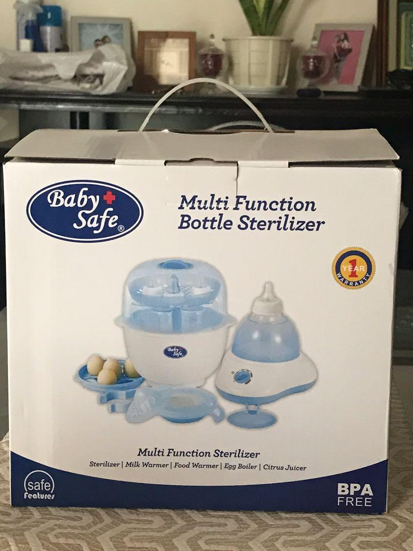 Baby Safe multi function bottle sterilizer *NEW*