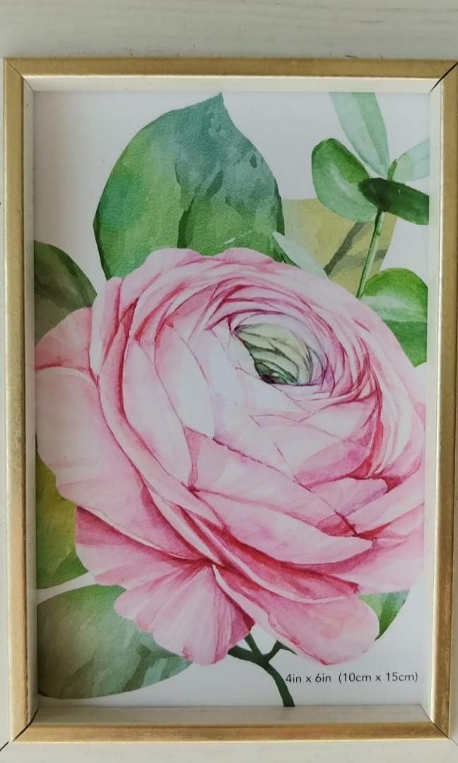 🌸Beautiful peony frame, home accessories by Isaac Jacobs