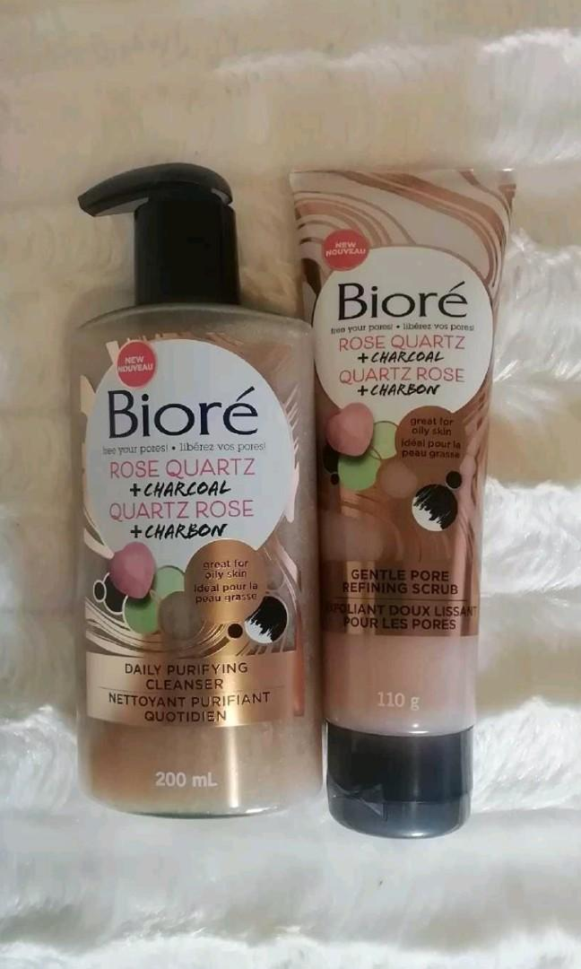 Biore Face Wash and Scrub Duo - $5 for both