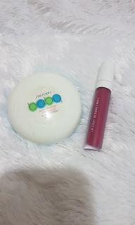 Bundling Set Shiseido (Compact powder) n BLP by Lizzie Parra (lip cream)
