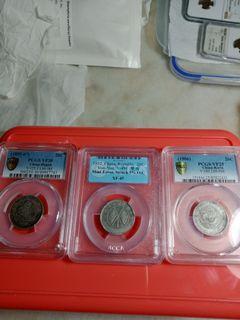 China Dragon 20 cents Kirin Hupeh  Yun Nan