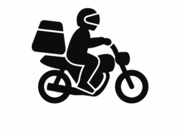 Delivery rider or driver  with own vehicle