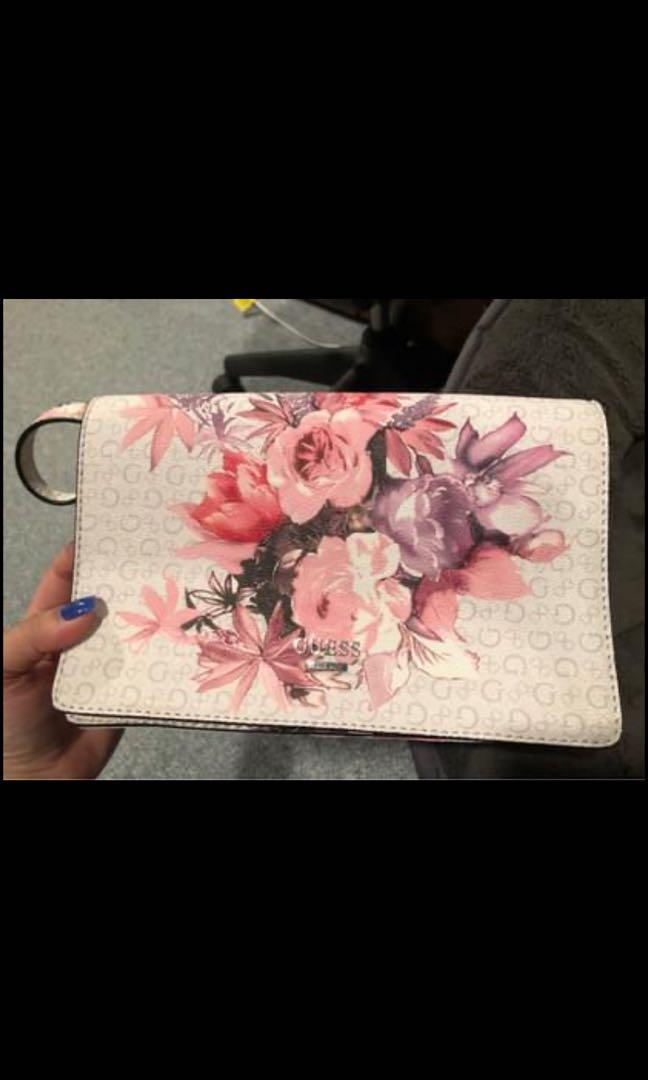 Floral Guess bag