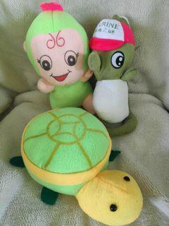Green Stuffed Toy Bundle