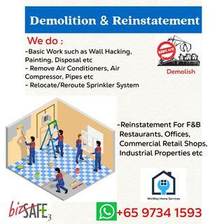 Hacking and Dismantling Services