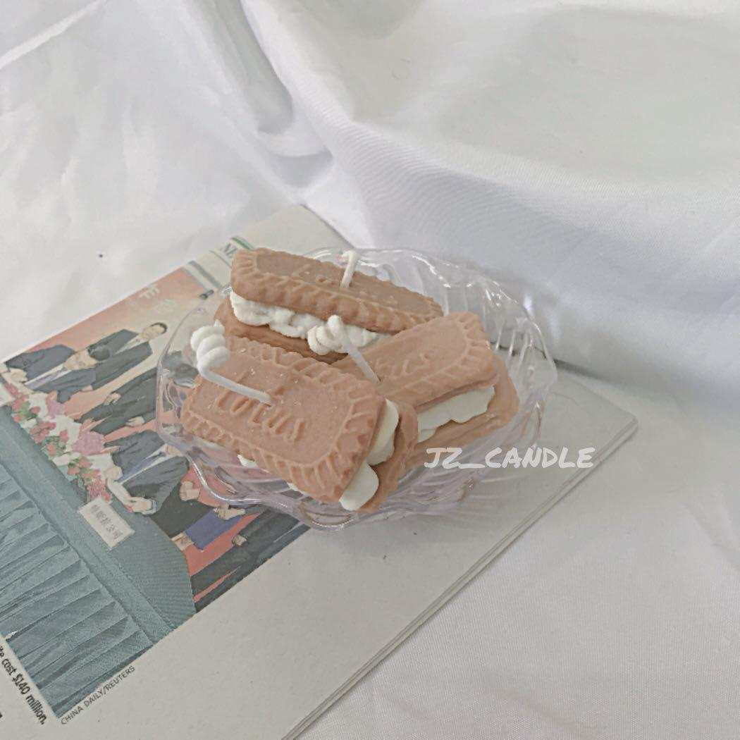 jz_candle|Lotus奶油夾心餅乾造型香薰蠟燭🕯️