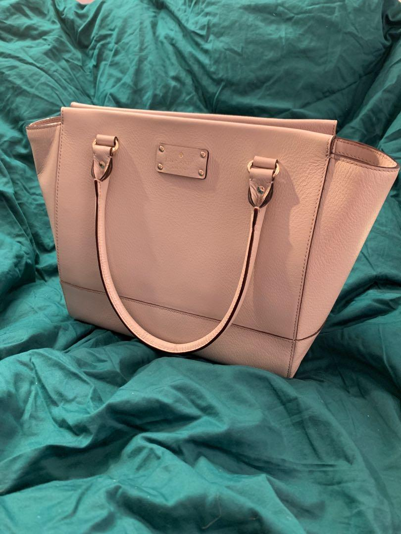 Kate Spade Dusty Rose Leather Handbag