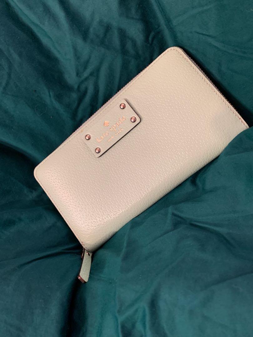 Kate Spade Mint Green Leather Wallet