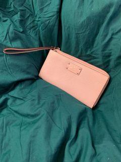 Kate Spade Pink Leather Wrislet