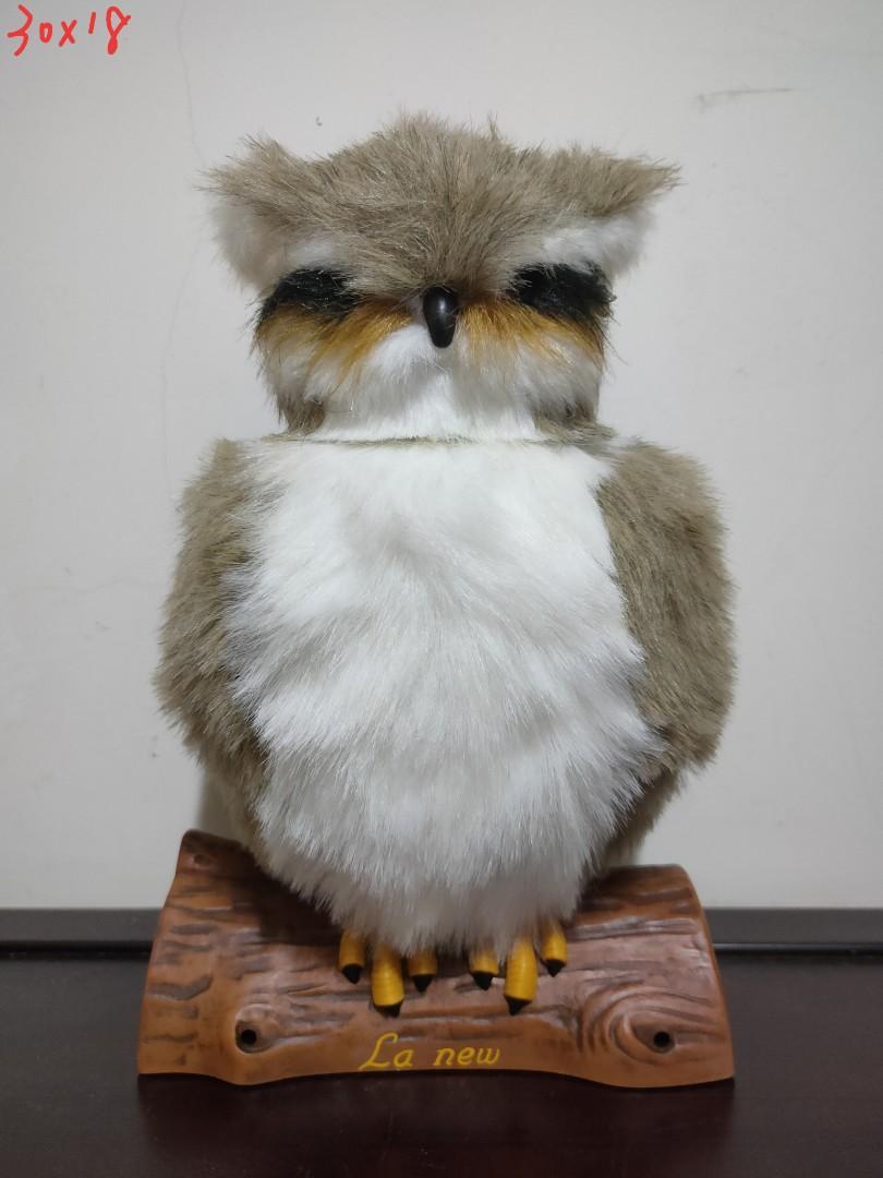 La new Watch owl 光感應貓頭鷹擺飾