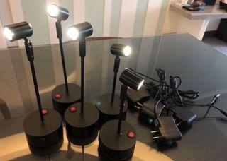 LED無線充電射燈 (適用珠寶首飾櫃)