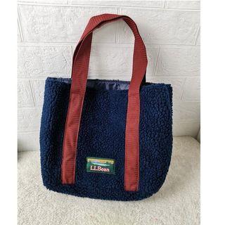 L.L.Bean 羊羔毛托特包 手提包 便當袋 手提包 購物袋 /
