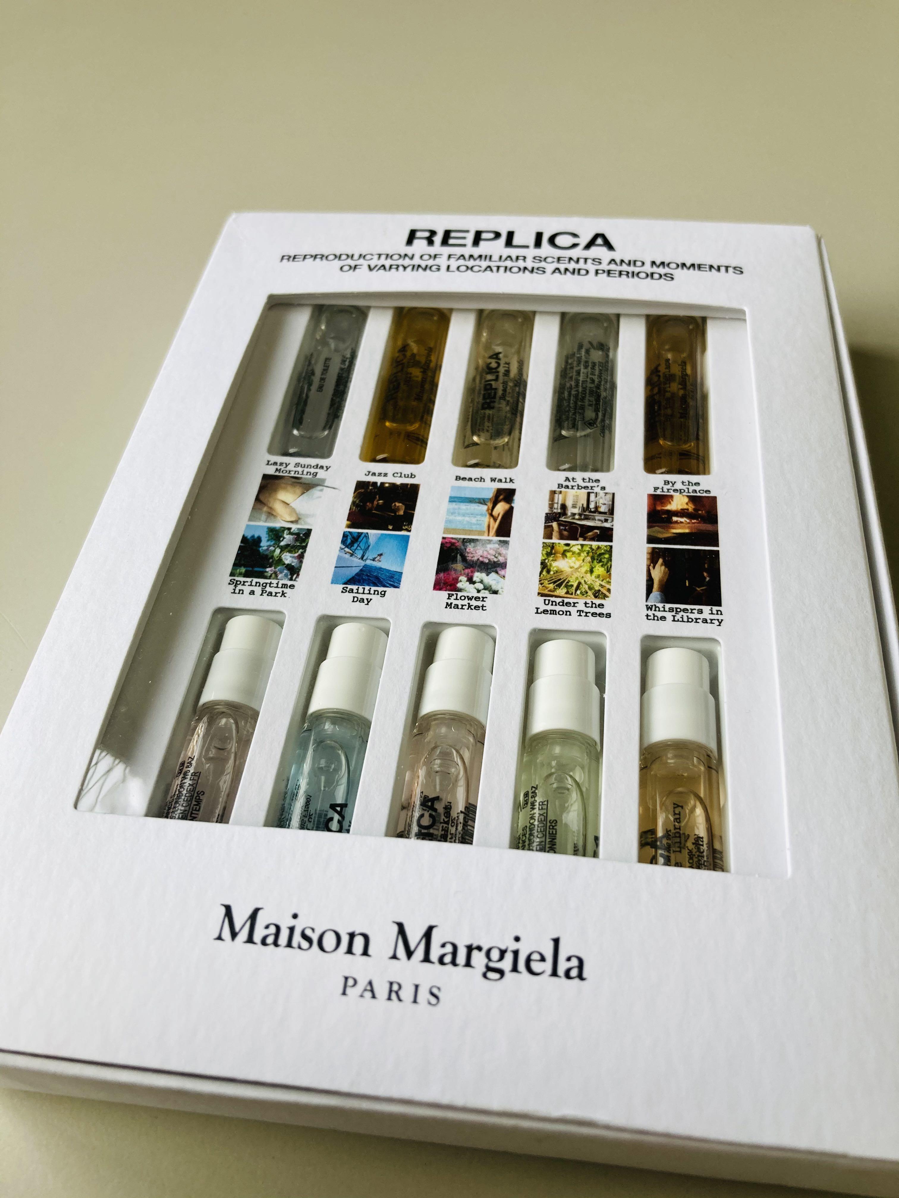<歡迎出價>Maison Margiela REPLICA 試管香水禮盒