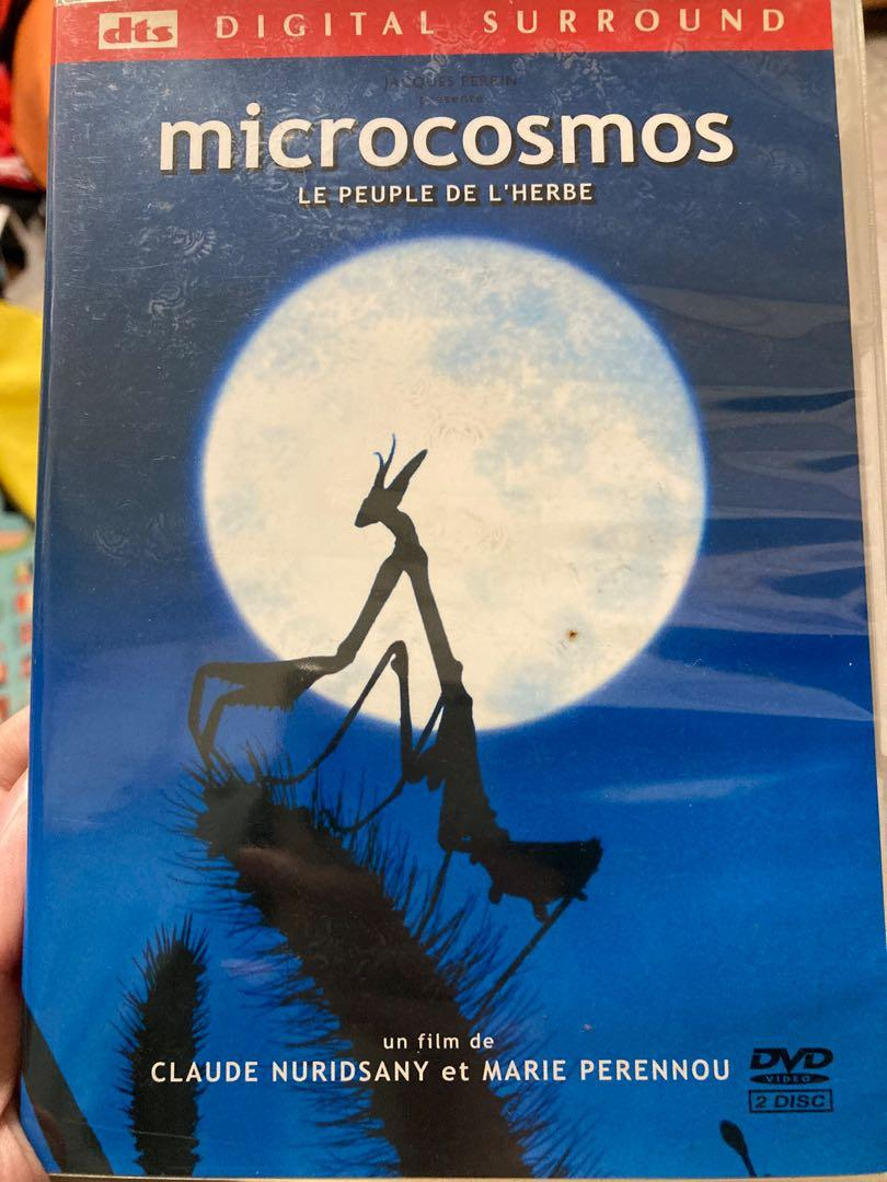 microcosmos 小宇宙 微觀世界 生態 DVD