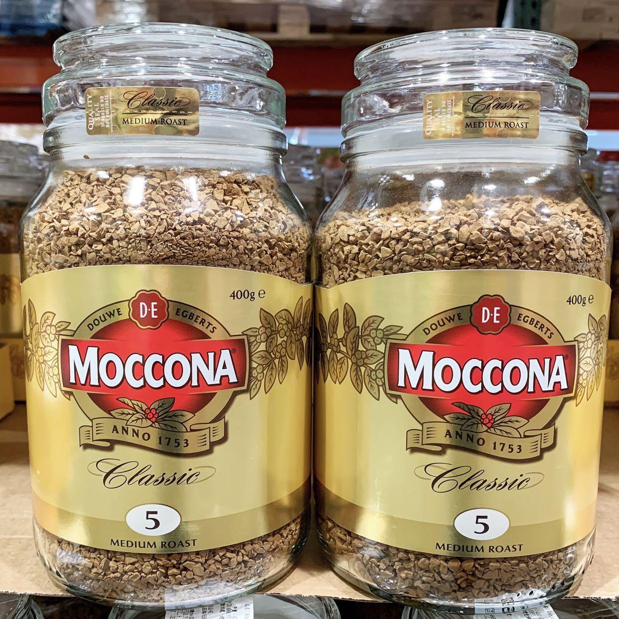 🍁MOCCONA 摩可納中焙即溶咖啡粉 400g
