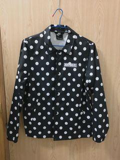 NIKE sportswear JDI 黑色點點風衣外套