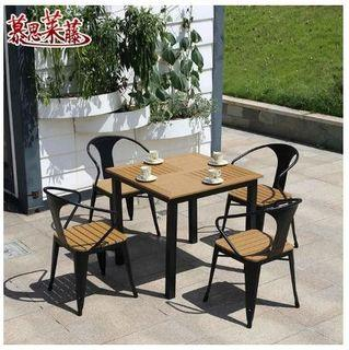 Outdoor Table and Chair Dining Set