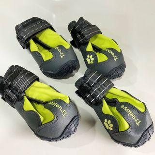 True Love Pet track shoes with Velcro straps