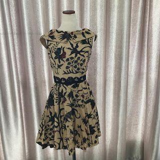 Preloved Batu First Brown Dress
