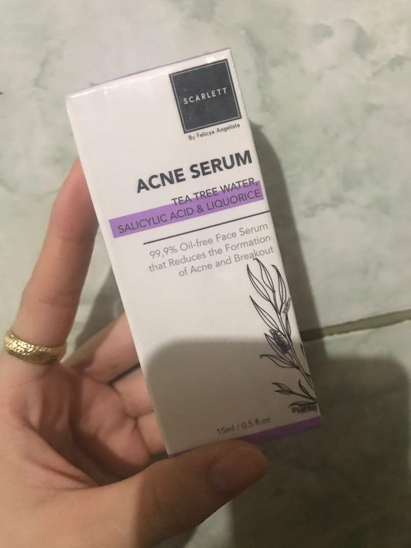 Scarlett acne serum