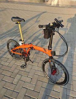 Sepeda Lipat Element Ecosmo Z9 Upgrade