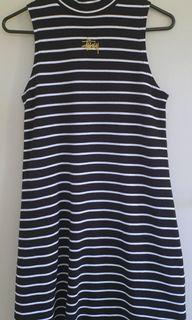 Stussy black stripe dress