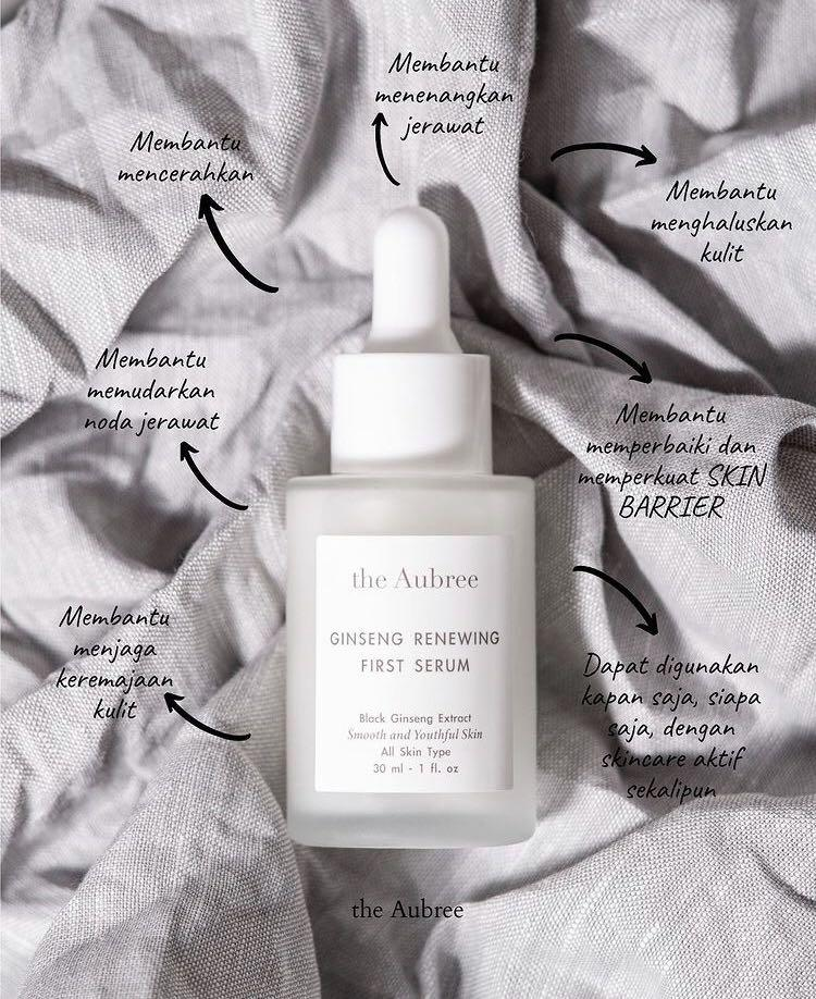 The Aubree ginseng renewing serum