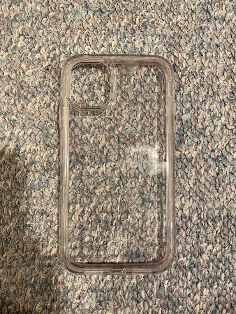Thick tempered glass clear case for iPhone 11