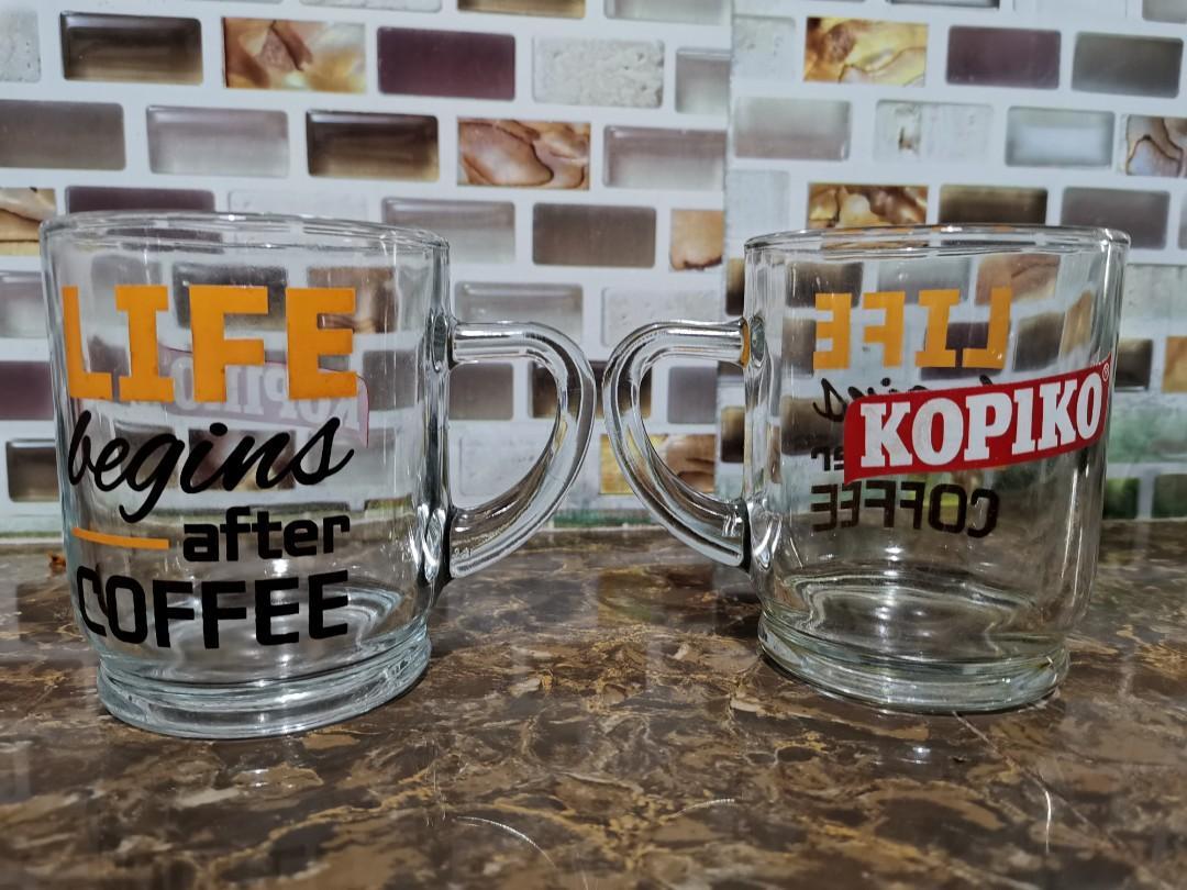 Vintage Kopiko mugs