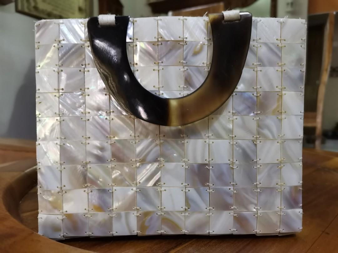 Vintage mother of pearl handbag