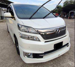 2013 Toyota Vellfire 3.5 VL Premium Edition