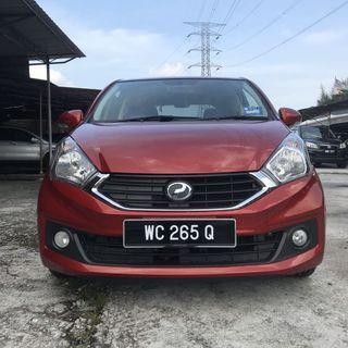 2016  Perodua Myvi 1.3 X Auto