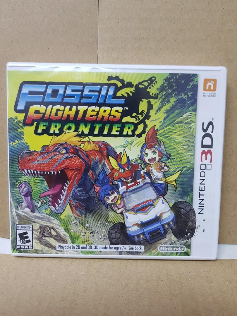 3DS Fossil Fighters Frontier - US
