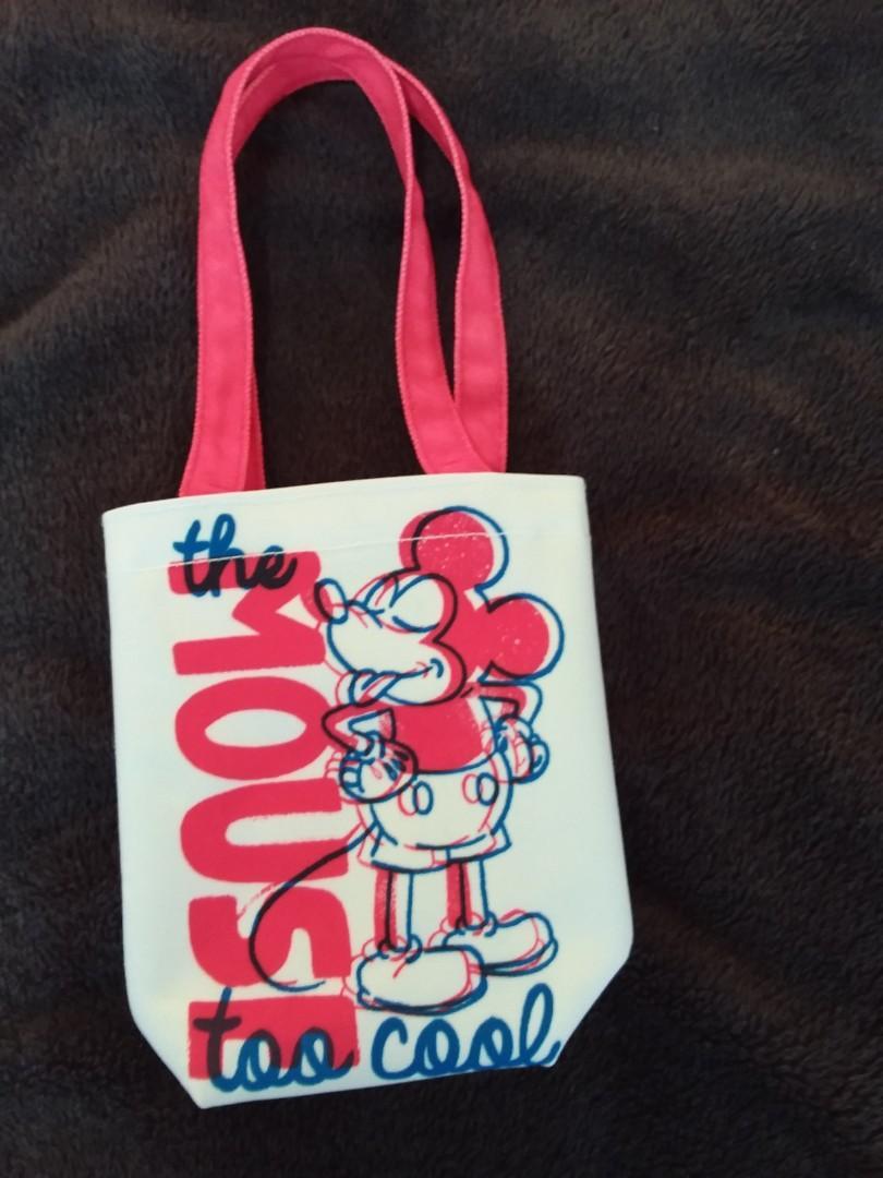 (加價購)米老鼠小型購物袋(紅手把)