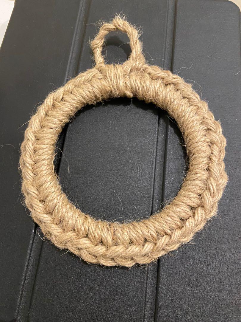 日式風麻繩隔熱墊
