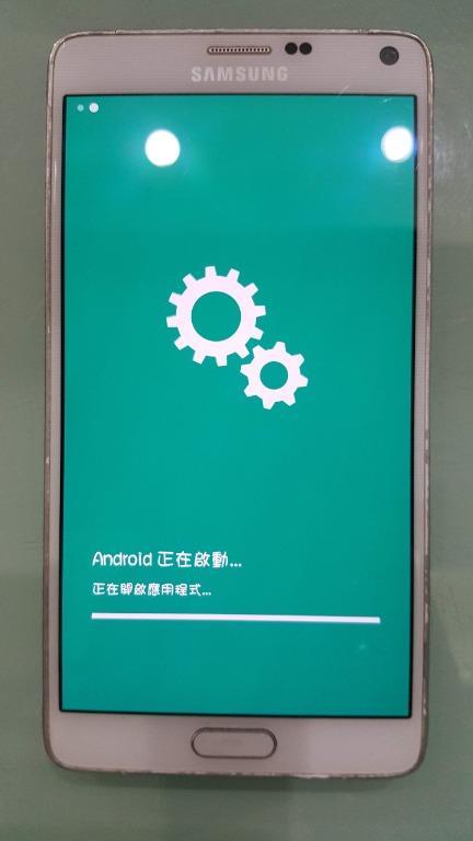 鎖碼故障零件機 三星 SAMSUNG GALAXY Note 4 手機 沒筆 note4