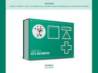 防彈少年團 bts 三期 FM 3rd muster DVD